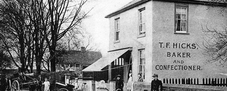 THEN Hicks Baker's Shop, School Road