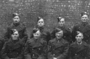 Henry Jewers, Percy Manning, Sid Atkins, W? Hammond//Bill Goymer, Henderson, McNeil, W Howe