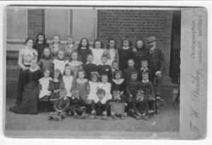 Elmswell School, 1950