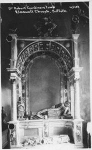 Robt Gardiners Tomb
