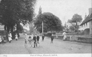 School Road, 1917