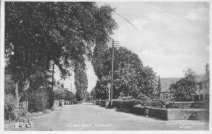 School Road, 1936