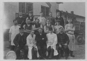 Staff photo - 25th April 1913