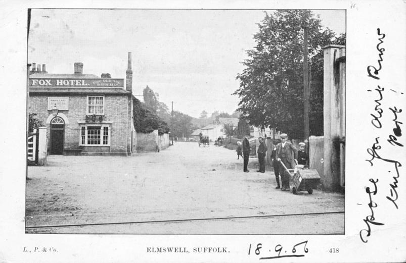 Fox & Station Rd, 1906