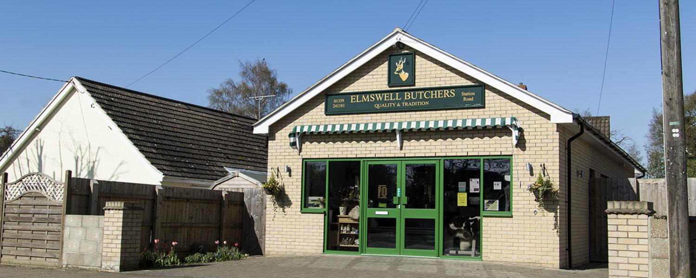 NOW Elmswell Butchers (Station/Ashfield Rd)